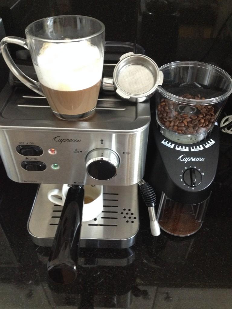 Coffee Maker Coffee Tastes Like Plastic : InspiringKitchen.com Home Barista: Capresso Espresso